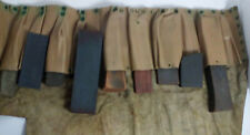 Lot of 9 Professional Tradesman Stone Sharpening Collection with Pouch
