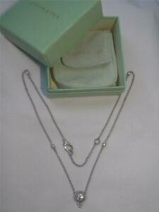 """NEW Judith Ripka SOLITAIRE CZ Sterling Silver 20"""" Textured Link heart Necklace!"""