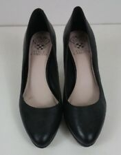womens Vince Camuto black leather pumps size 7.5