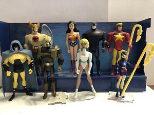 JLU Lot Justice Society, Hawkman, Hourman, Sandman, Stargirl