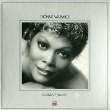 Dionne Warwick Legendary Singers Time Life Music Sealed 2LP Box Hits Best Of