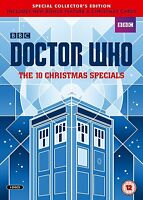 Doctor Who - The 10 Natale Specials (Edizione Limitata - Numerato) [DVD] Nuovo