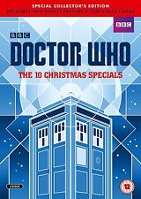 Doctor Who - The 10 Xmas Specials (Limited Edition - numbered) [DVD]  SEALED!!