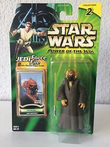 PLO KOON JEDI MASTER - STAR WARS - POWER OF THE JEDI - 2000 - ¡NUEVA!