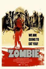 Zombie Flesh Eaters Poster - Mondo - Jock - Artist Proof - Limited Edition