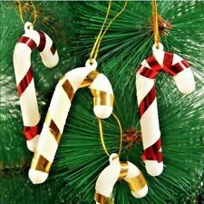 6Pcs/pack For New Year Xmas Party Kids Gift XMAS Hanging Candy Cane Christmas Tr
