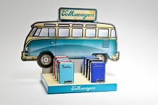 VW Samba Feuerzeuge Verkaufs-Display 8 teilig in Geschenkboxen Bus Bulli Bully