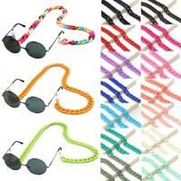 Fashion Acrylic Glasses Chain Sunglasses Strap Lanyard Neck Eyeglass Cord Holder