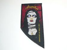 SARCOFAGO THE LAWS OF SCOURGE WOVEN PATCH