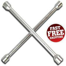 4 Way Lug Wrench Universal Car Tire Changing Repair Tool Cross Steel Wheel Nut
