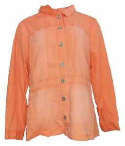 SoftCell by Diane Gilman Women's Sz XL Elongated Jacket Pink 741166