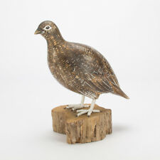 Archipelago Hand Carved Wooden Birds Grouse female