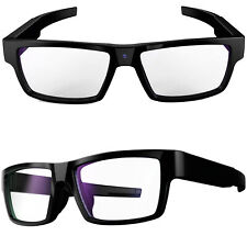 More details for touch control spy video/audio glasses invisible lens 1080p hd 16gb dvr recorder
