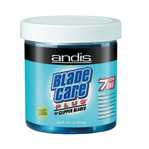 Andis 7 in 1 Blade Care Wash Plus Disinfectant Dip Jar for Clipper Blades 468ml