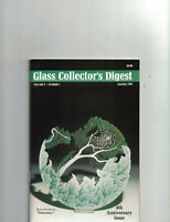 Glass Collector's Digest Vol V, No 1 Jun/Jul 1991-Morgantown, Tiffany, Open Salt
