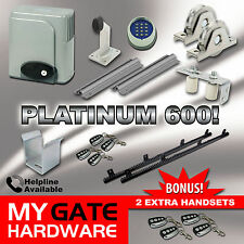 New Sliding Electric Gate Opener 600kg Automatic motor, remote heavy duty kit