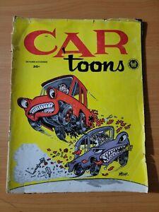 CARtoons Car Toons Magazine #8 October - November 1962 ~ GOOD GD ~