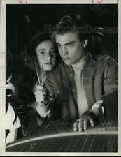1990 Press Photo Soleil Moon Frye and Chad Allen in Choose Your Own Adventure.