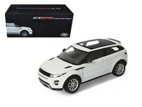 Welly 1:18 Range Rover Evoque Diecast Model SUV White 11003