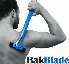 Bakblade para hombre para armar uno mismo de fácil uso posterior Removedor De Pelo Afeitadora maquinilla de afeitar pelo espalda BB01