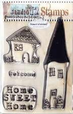 HOME Sweet Home-A6 Timbro Clear Set-polkadoodles/Studio 12