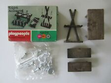 VINTAGE PLAYMOBIL PLAYPEOPLE KNIGHT'S ACCESSORIES 1715 NEW IN BOX KNIGHTS SEALED