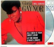 Gloria Gaynor I will survive (8:02min., 1978, #polydor887200-2) [Maxi-CD]