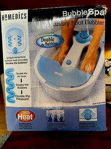Homedics BubbleSpa Luxury Foot Bubbler BS-100DB