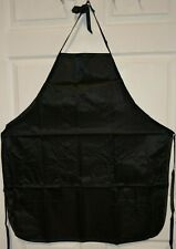 Betty Dain Satin Stylist Apron - Black