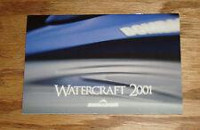 Original 2001 Sea Doo Watercraft Full Line Sales Brochure 01