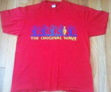 Vintage OCEAN PACIFIC shirt 1989 red surf XL Op 80s wave 89 fish surfing Cali