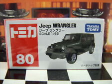 TOMICA #80 JEEP WRANGLER 1/65 SCALE NEW IN BOX