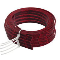 5 Pcs Celluloid Acoustic Guitar Binding Purfling Strip Red Pearl 5mm x 1.5mm
