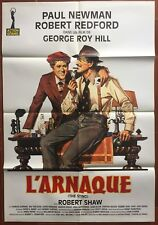 Affiche L'ARNAQUE The Sting PAUL NEWMAN Robert Redford 80x120cm