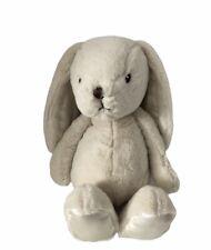 "Animal Alley Cream White Bunny Rabbit 16"" Satin Ears Plush Toy Toys R Us Easter"