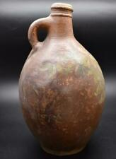 "Rare Large 11"" 17th / 18thC Salt Glazed Bellarmine Jug - No Face and Painted"