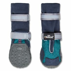 Dog Helios 'Traverse' Premium Grip High-Ankle Outdoor Dog Boots- Large/Blue