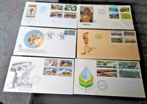 South West Africa 1980-1985  Collection of 6  Illustrated First day Cover