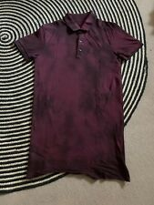 All Saints Short Sleeved Polo Shirt - Size Small