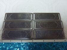Metal for stamping pewter plated base metal  stamping blanks scrapbooking A562