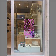 vetrofanie saldi primavera estate adesivo vetrine negozio sconti offerta a0439