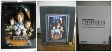 Star Wars Code 3 Best Buy Movie Poster Sculpture REVENGE OF THE SITH ROTS COA S