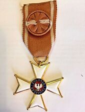 1944 Polonia Restituta Commanders Cross  Third Highest Polish Order Poland