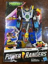 Power Rangers Beast-X Ultrazord Action Figures With Sound