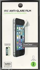 2-Pack Belkin Iris Anti-Glare Screen Protector Film for iPhone 4S