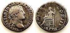 Roma-Adriano. Denario 117-138 d.C. plata 3,3 g. Bonita y escasa.
