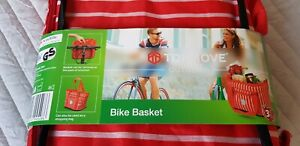 Bike Bicycle Front Foldable detachable Basket