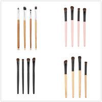 4pcs Eyeshadow Set Eye Shadow Foundation Blending Brush Makeup Cosmetic Tool NEW