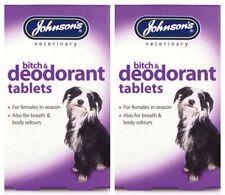 Johnsons Perra Y Desodorante comprimidos para perros 2 Pack Oferta
