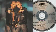 Bros CD-SINGLE CHOCOLATE BOX (c) 1989